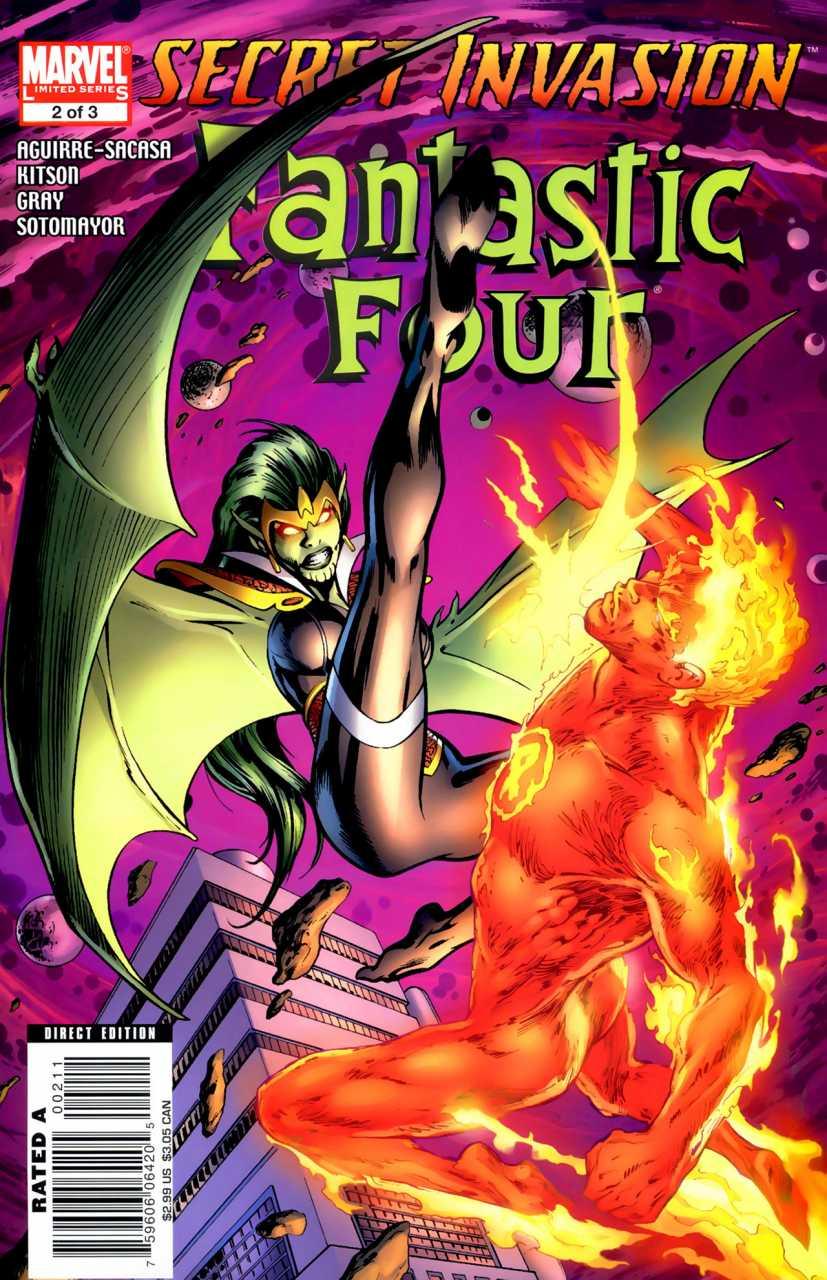 Secret Invasion: Fantastic Four #2