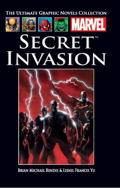 The Ultimate Graphic Novels Collection Secret Invasion HC