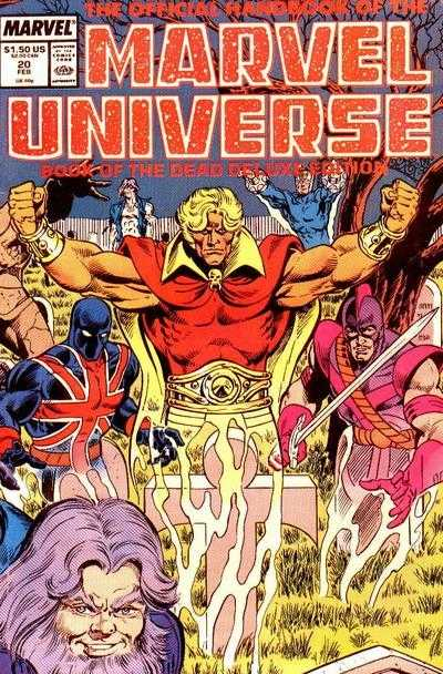 The Official Handbook of the Marvel Universe #20