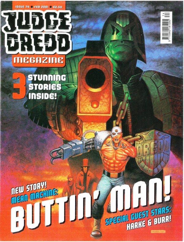 Judge Dredd Megazine #74