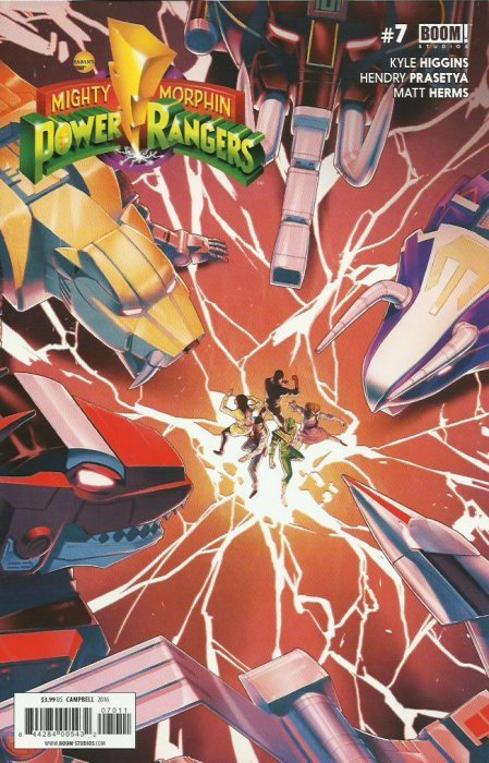Mighty Morphin Power Rangers #7