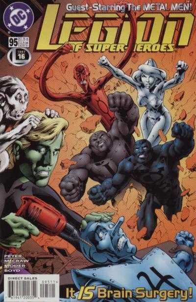 Legion of Super-Heroes #95