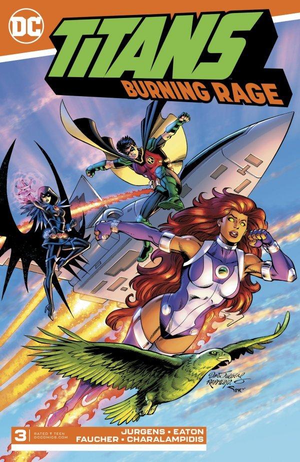 Titans: Burning Rage #3