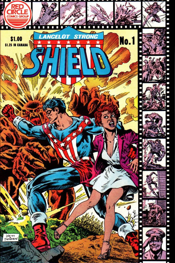 Lancelot Strong, The Shield #1