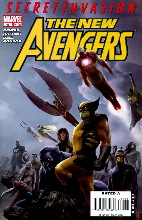 The New Avengers #45