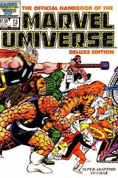 The Official Handbook of the Marvel Universe #13