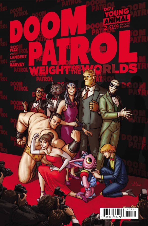 Doom Patrol: Weight of the Worlds #2