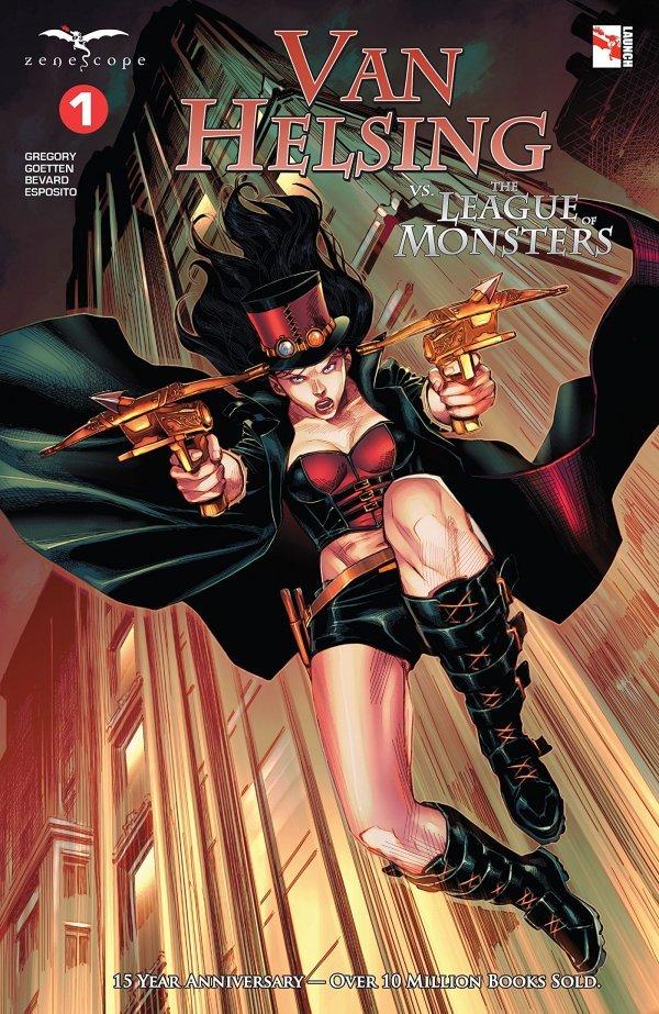 Van Helsing Vs. League Monster #1