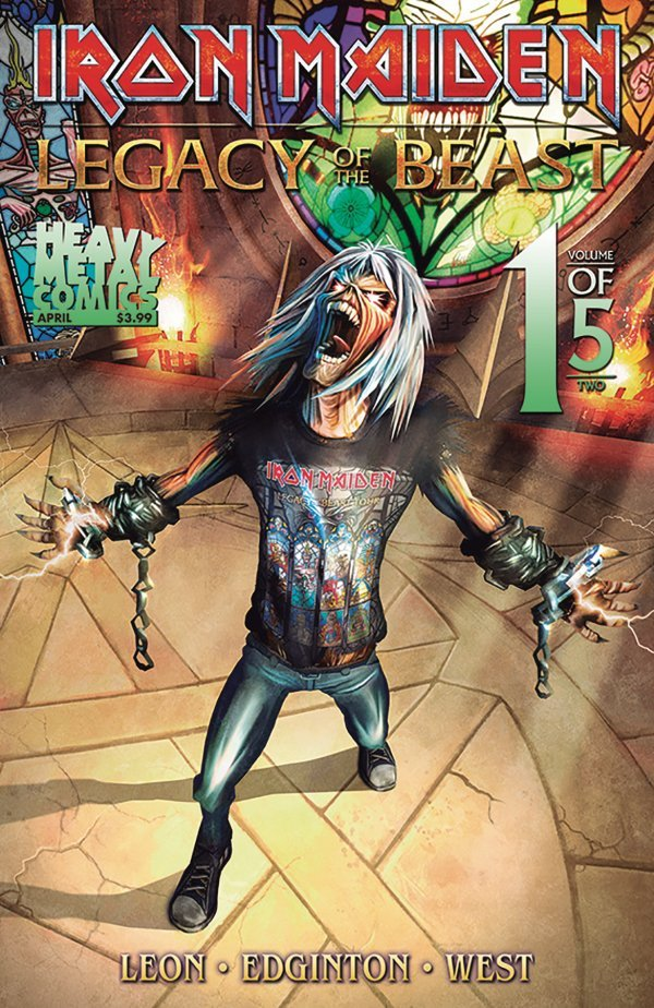 Iron Maiden: Legacy of the Beast #1 review