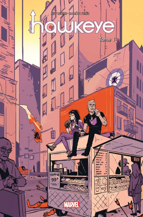 All-New Hawkeye Vol. 1 HC French edtion