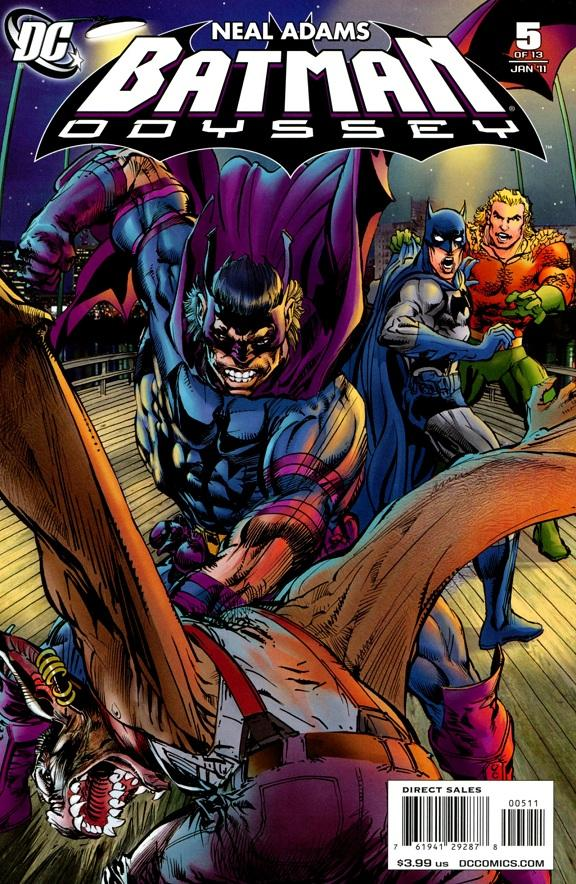 Batman: Odyssey #5