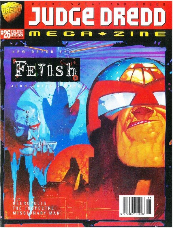 Judge Dredd Megazine #26
