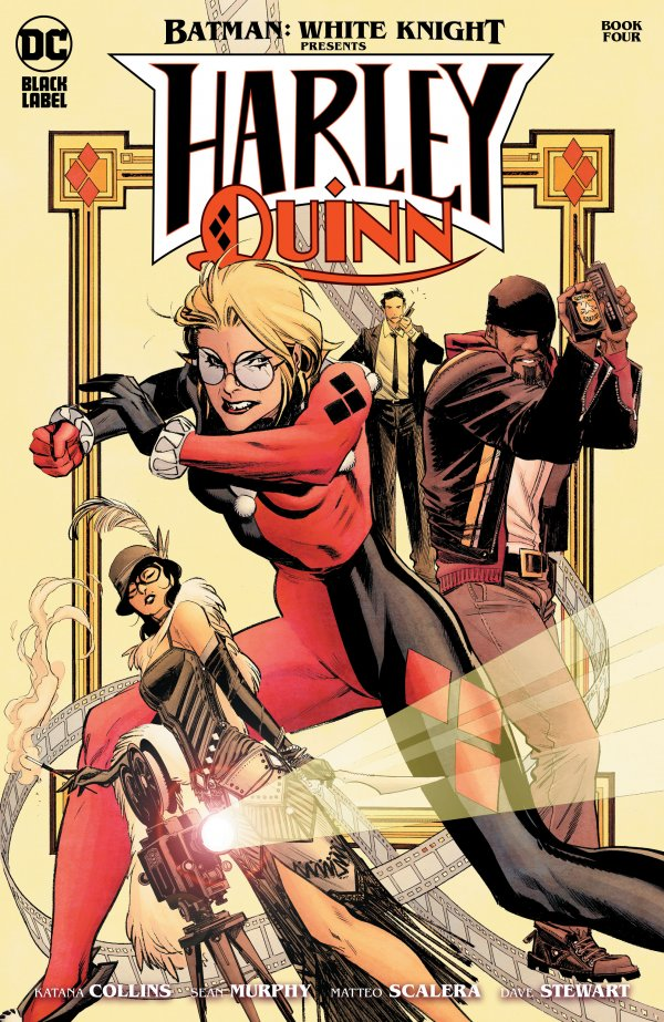 Batman: White Knight Presents Harley Quinn #4
