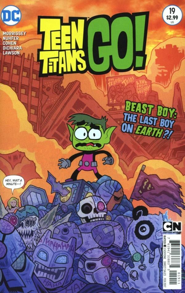Teen Titans Go! #19