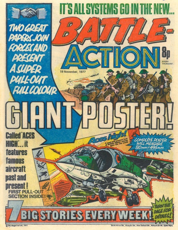 Battle Picture Weekly #142 (November 19th, 1977)