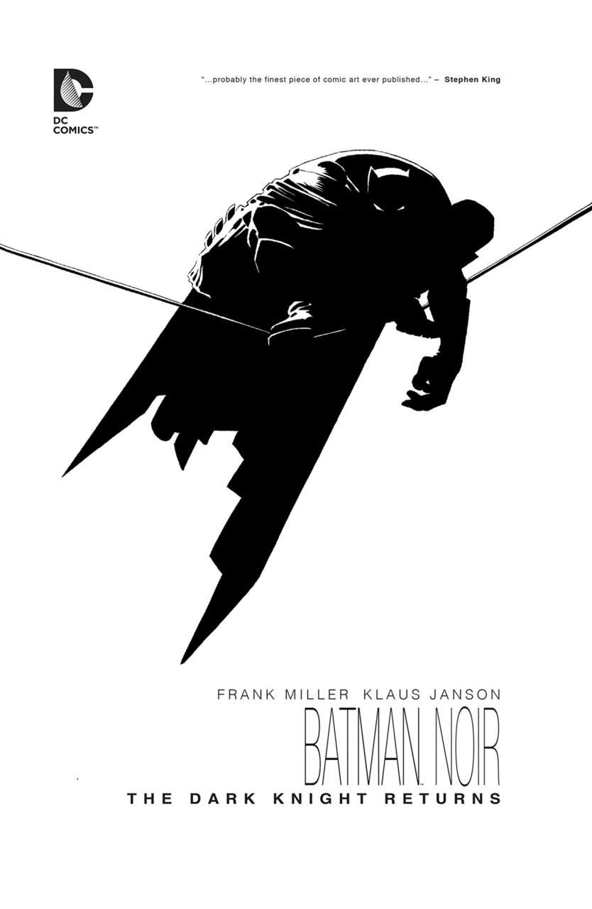 Batman Noir: The Dark Knight Returns Deluxe Edition HC