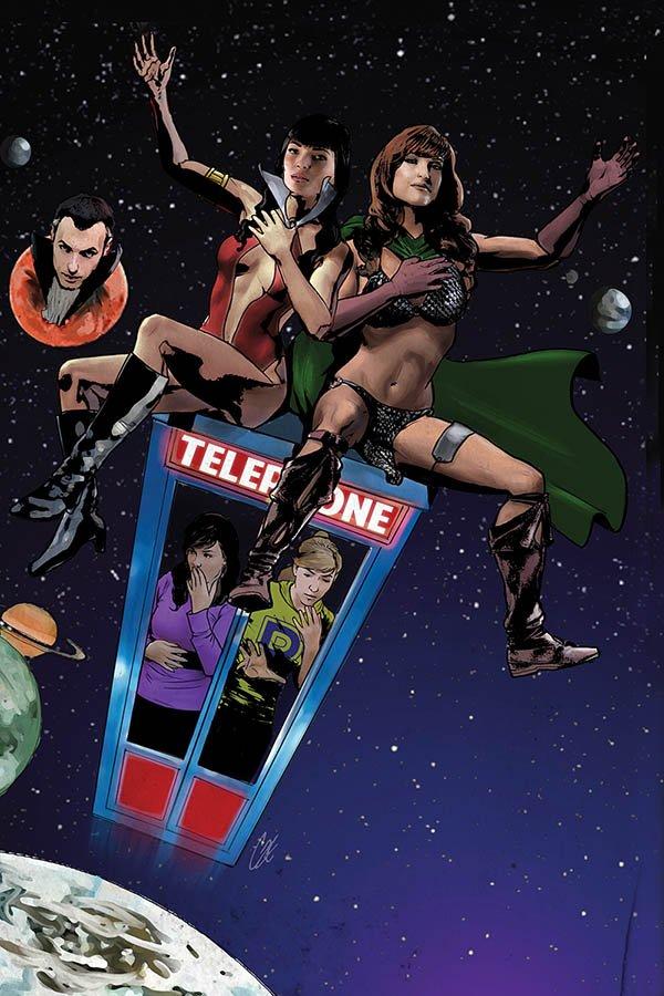 Red Sonja & Vampirella Meet Betty & Veronica #12