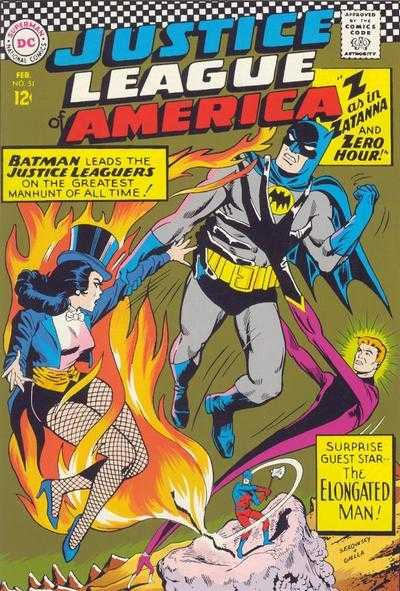 Justice League of America #51