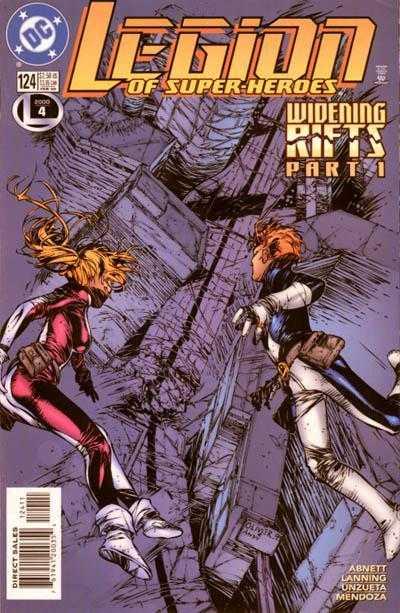 Legion of Super-Heroes #124
