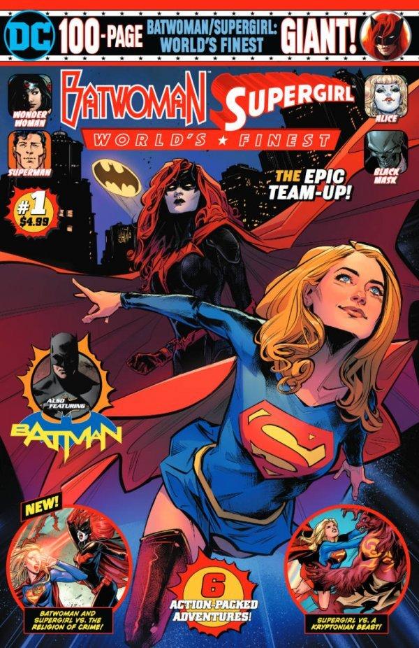Batwoman & Supergirl - World's Finest Giant #1