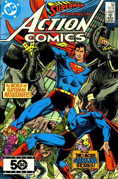 Action Comics #572