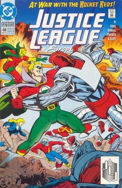 Justice League Europe #48