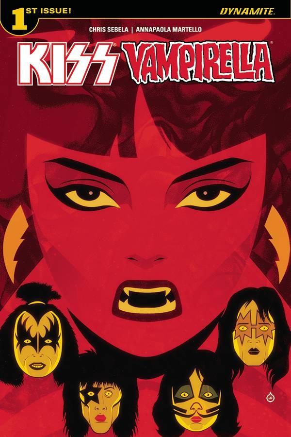 KISS / Vampirella #1