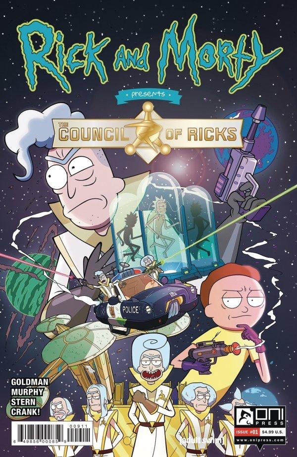 Rick And Morty Presents: Council Of Ricks #1