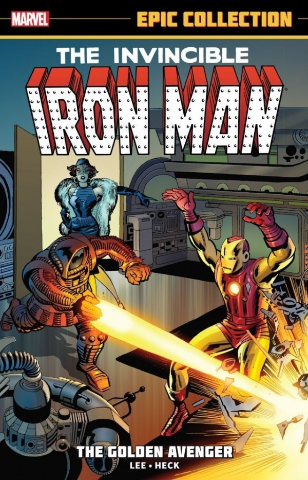 Iron Man Epic Collection: The Golden Avenger TP