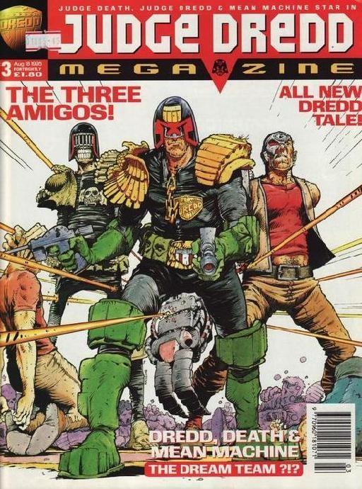 Judge Dredd Megazine #3