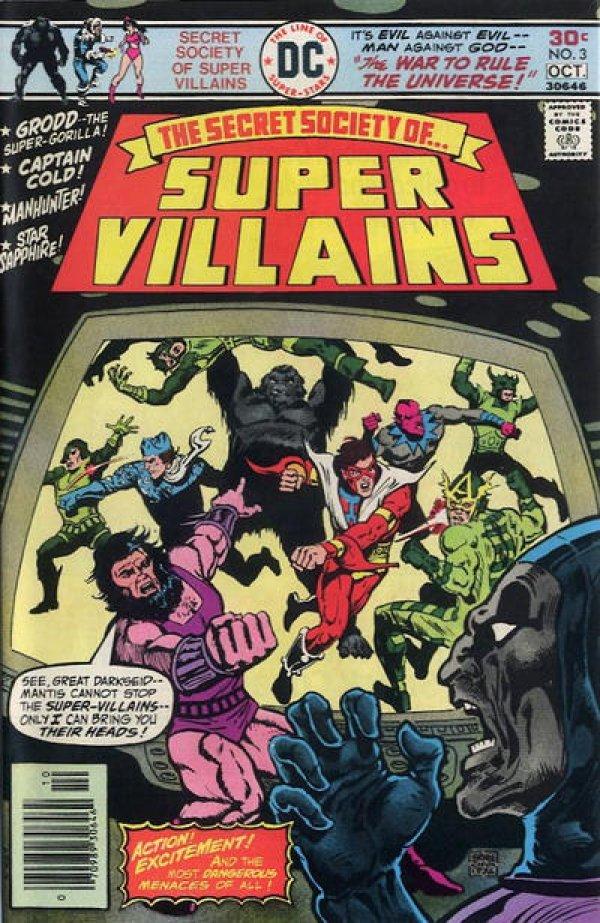 The Secret Society of Super-Villains #3