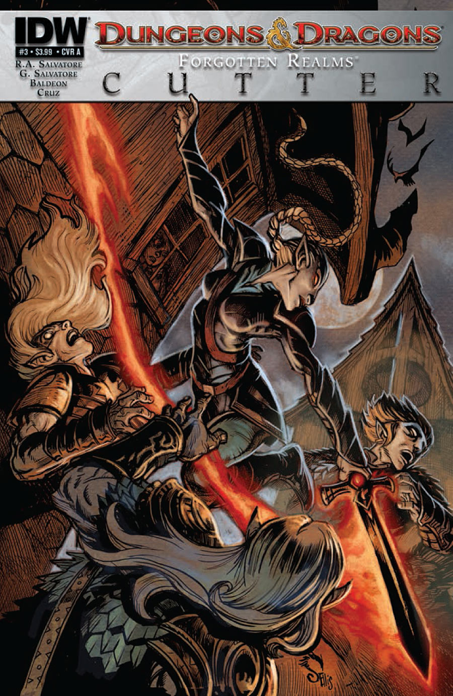 Dungeons & Dragons: Cutter #3