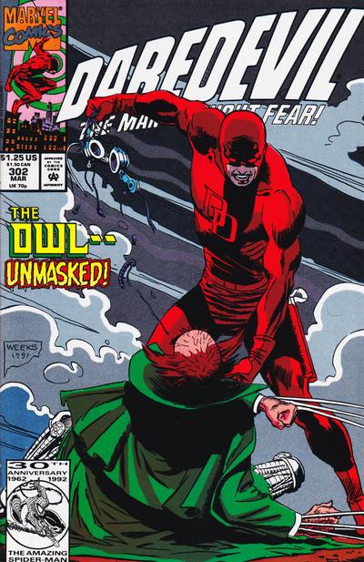 Daredevil #302