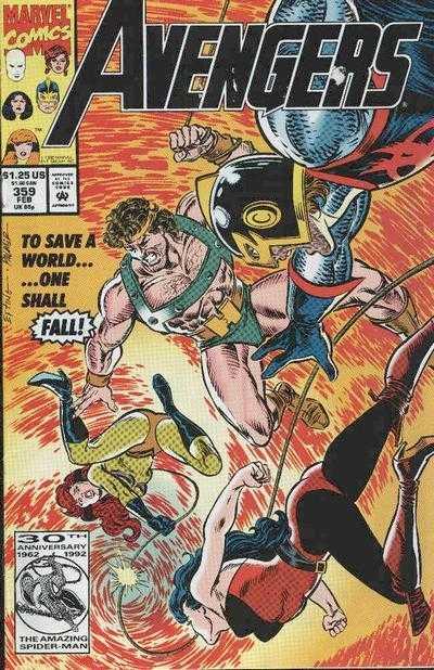 The Avengers #359