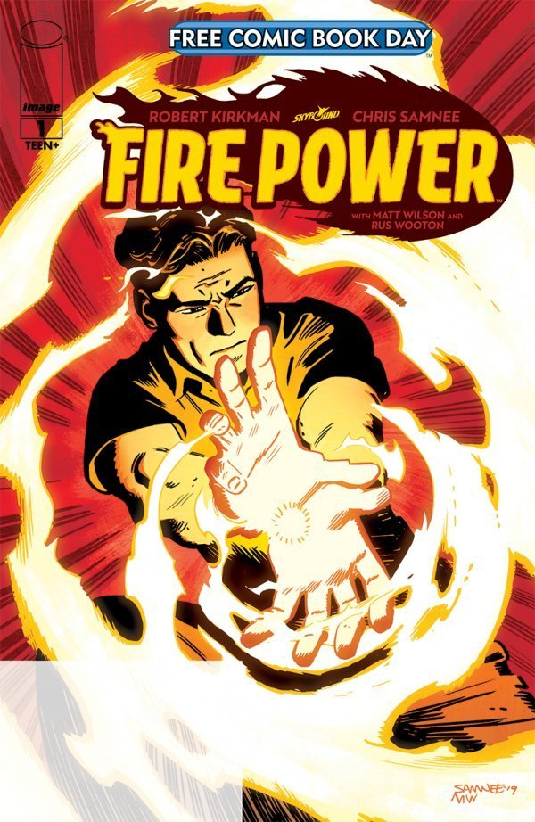 Free Comic Book Day 2020: Fire Power #1