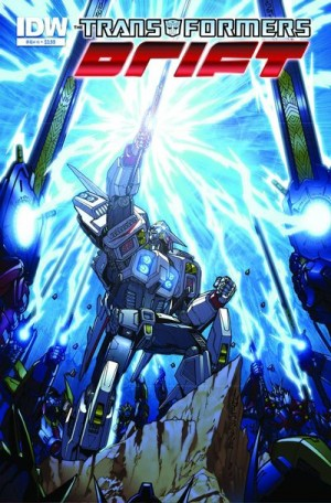The Transformers: Drift #4