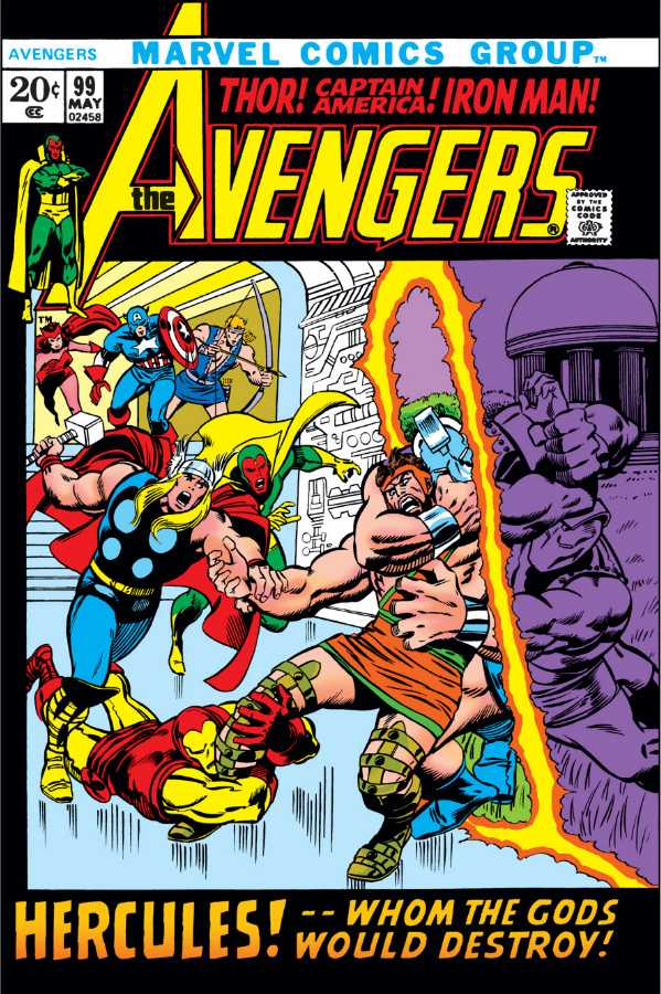 The Avengers #99