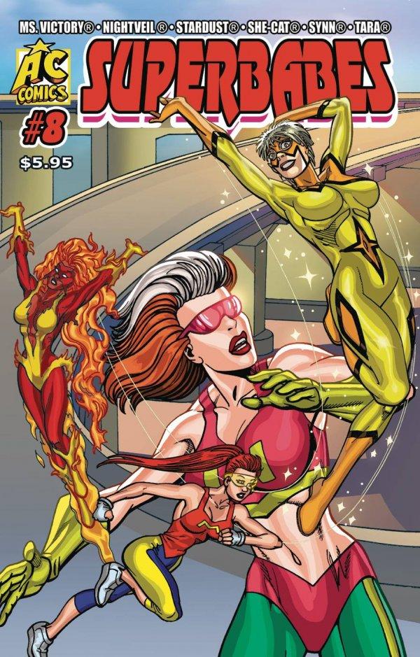 Superbabes Starring Femforce #8