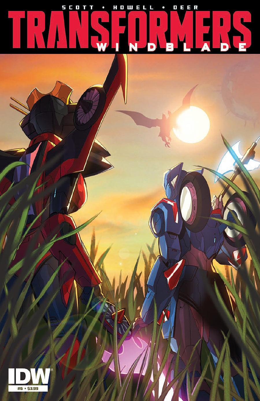 The Transformers: Windblade #6