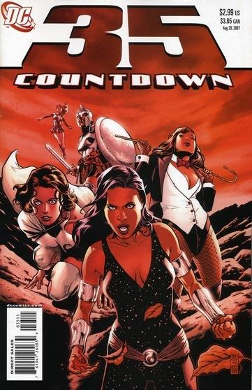 Countdown to Final Crisis #35