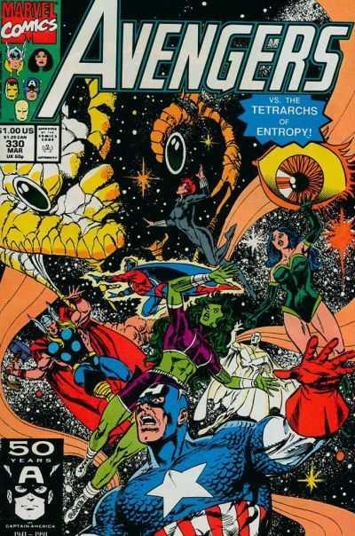 The Avengers #330