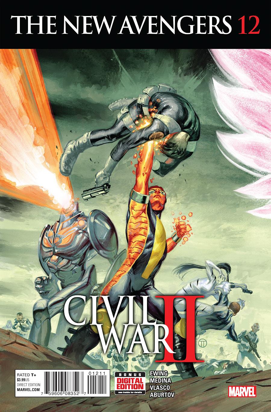 The New Avengers #12