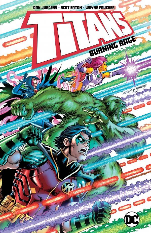 Titans: Burning Rage TP