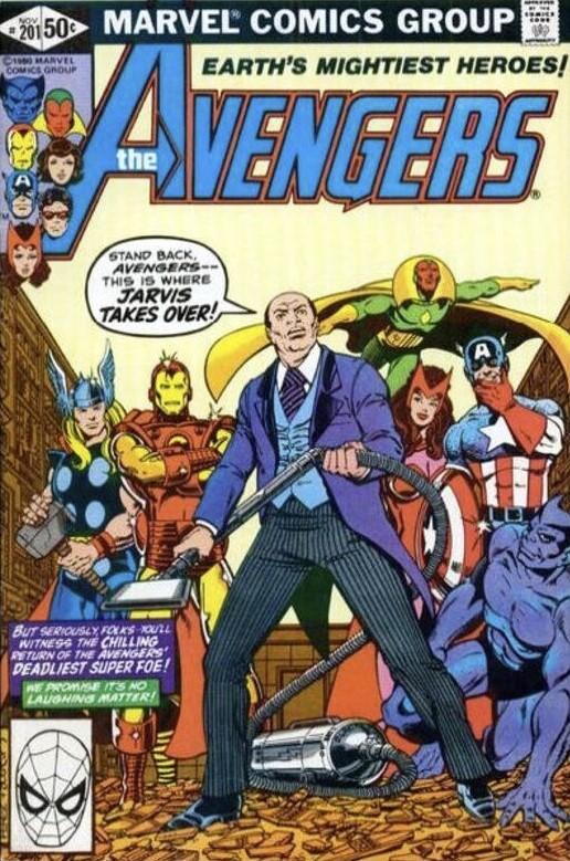 The Avengers #201