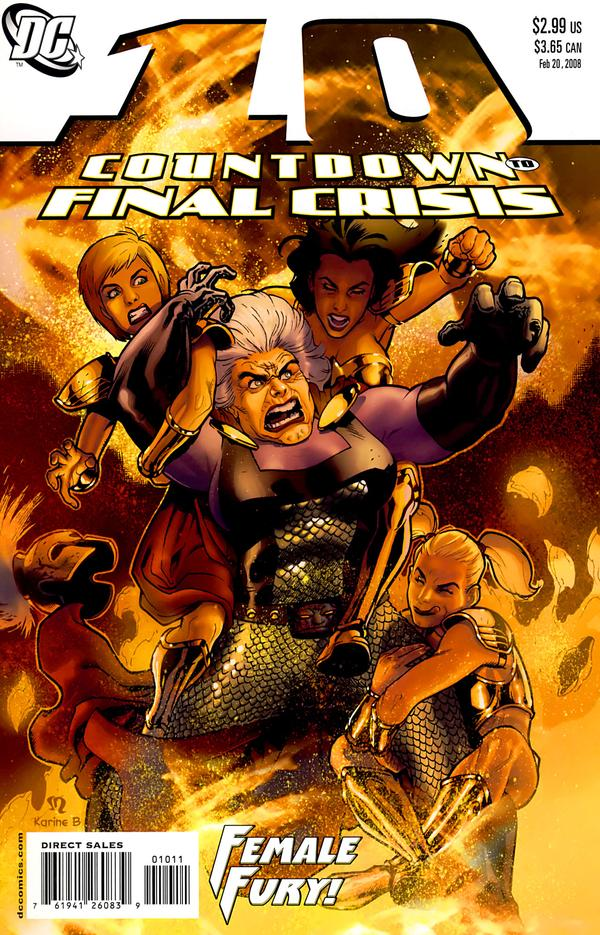 Countdown to Final Crisis #10