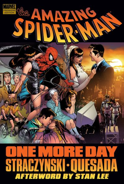 Spider-Man: One More Day HC Direct Edition