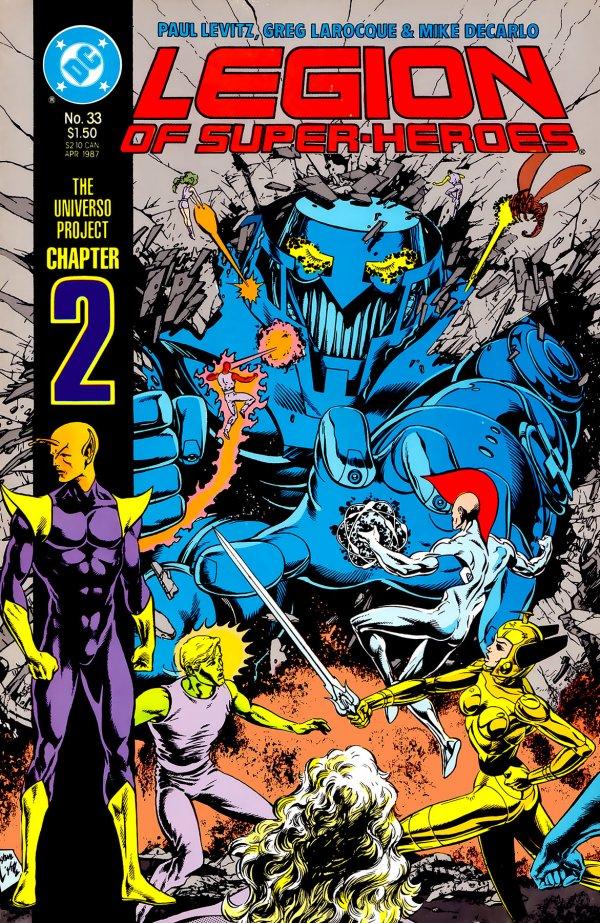 Legion of Super-Heroes #33