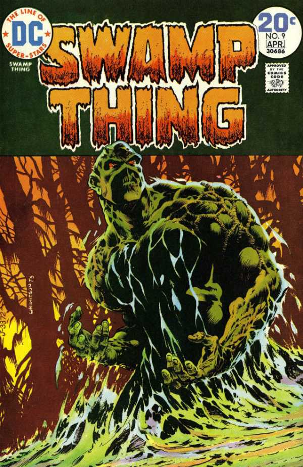 Swamp Thing #9
