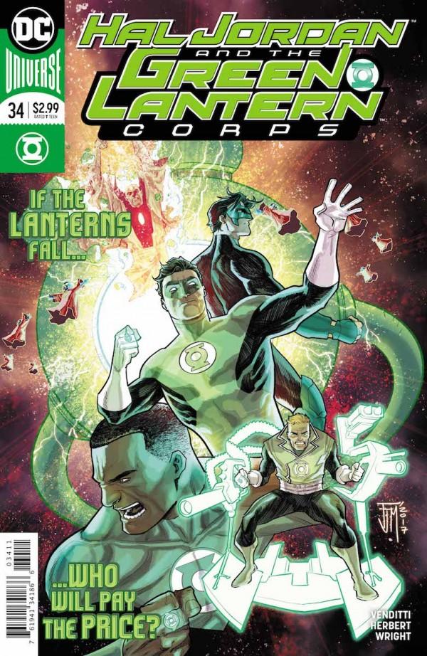 Hal Jordan and the Green Lantern Corps #34