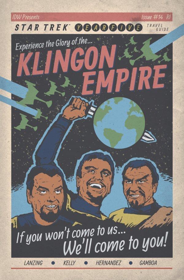 Star Trek: Year Five #14